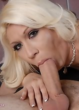 Gorgeous blondie Victoria getting fucked by Wolf